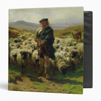 "El pastor de la montaña, 1859 carpeta 1 1/2"""