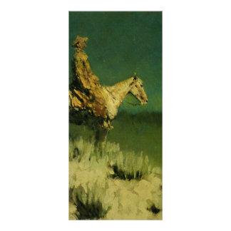 El pastor de la noche de Federico Remington (circa Tarjetas Publicitarias A Todo Color