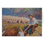 El pastor de las ovejas felicitacion