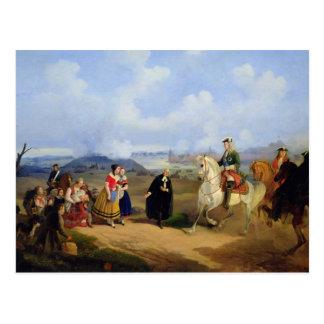 El pastor Ernst Glueck presenta a Marta Postales