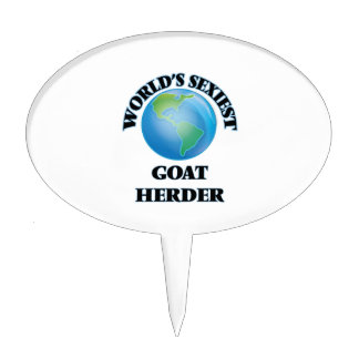 El pastor más atractivo de la cabra del mundo figuras para tartas