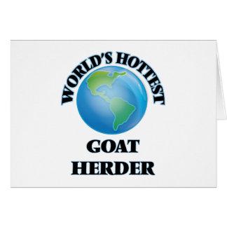El pastor más caliente de la cabra del mundo felicitaciones