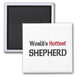 El pastor más caliente de los mundos imán cuadrado