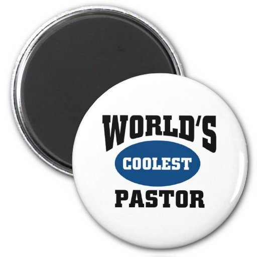 El pastor más fresco imán redondo 5 cm
