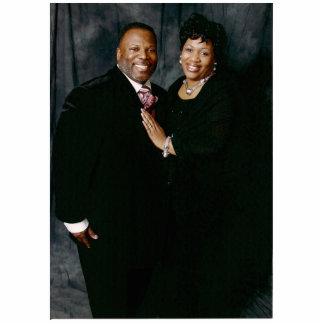 El pastor Richard y elige a señora Lisa Williams Fotoescultura Vertical