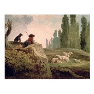 El pastor tarjetas postales