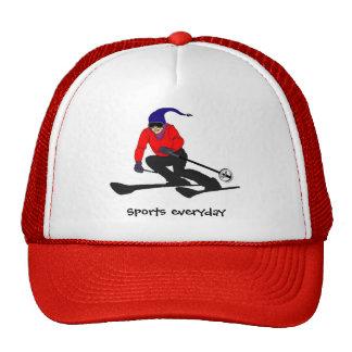 el patín, deporte, gimnasio, compite, los deportes gorras de camionero
