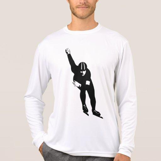 el patín, skee, deporte, gimnasio, compite camisetas