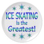 El patinaje de hielo es el más grande platos