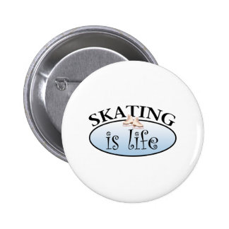 El patinaje es vida pin