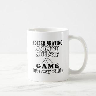 El patinaje sobre ruedas no es apenas un juego que tazas de café