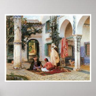 El patio, 1873 impresiones
