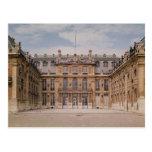 El patio de Louis XIII, o el mármol Postal