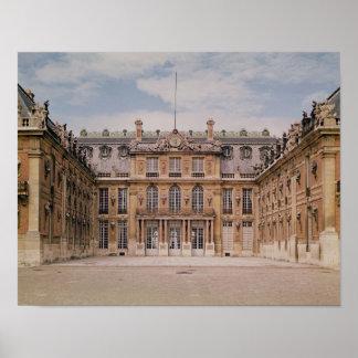 El patio de Louis XIII, o el mármol Póster