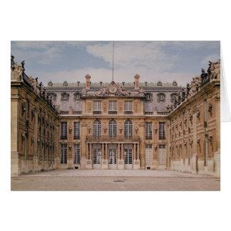 El patio de Louis XIII, o el mármol Tarjeta De Felicitación