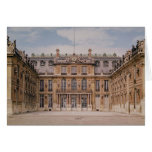 El patio de Louis XIII, o el mármol Tarjetas