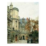 El patio del museo de Cluny, c.1878-80 Postales
