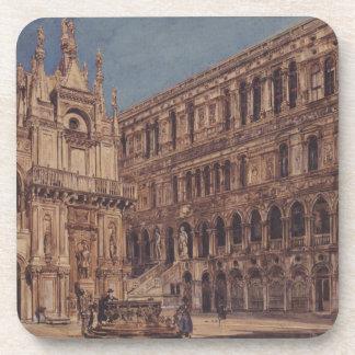 El patio del palacio del dux en Venecia Posavasos