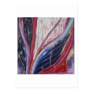 """El patio trasero"" por Peter Heuscher Tarjeta Postal"