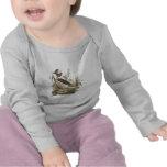 El pato Buffle-dirigido(albeola de Fuligula) Camiseta