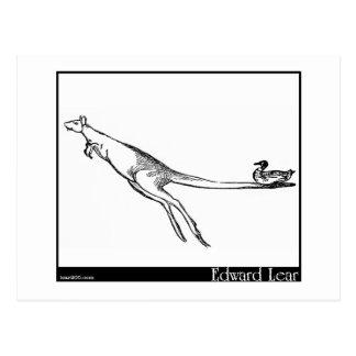 El pato y el canguro postales