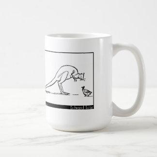 El pato y el canguro taza clásica