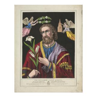 El patriarca Sanct José circa 1870 Fotografía