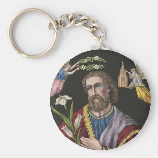El patriarca Sanct José circa 1870 Llaveros Personalizados