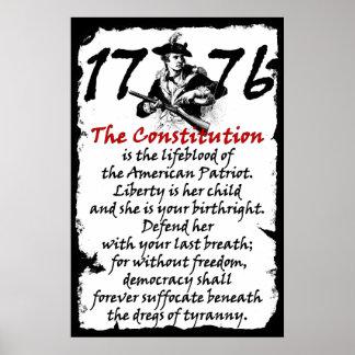 El patriota americano posters