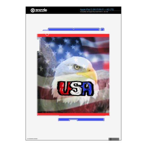 El patriota iPad 3 skins
