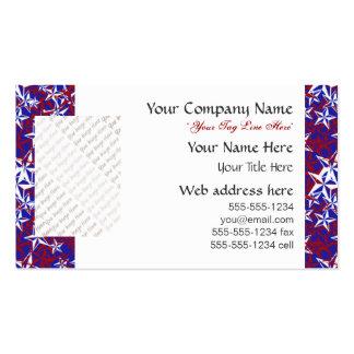 El patriota protagoniza personalizado tarjetas personales