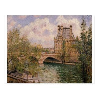 El Pavillion de Flore y el Pont real Postal