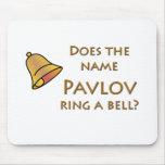 ¿El Pavlov conocido suena una Bell? Alfombrillas De Raton