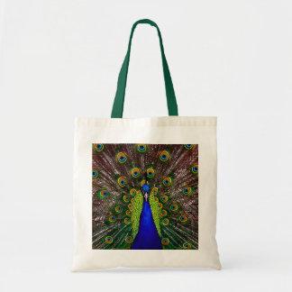 El pavo real bolsas de mano