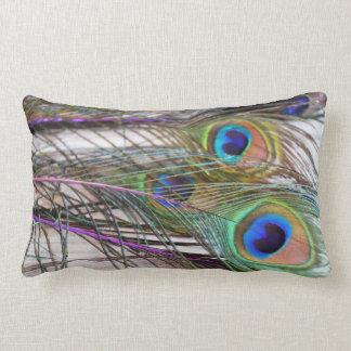 El pavo real del Joya-Tono empluma moda de la Cojín
