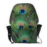 El pavo real empluma las 3 bolsas de mensajero bolsas de mensajeria