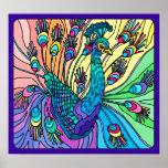 El pavo real muestra sus plumas: Poster
