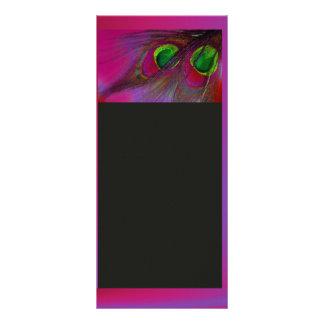 ¡El pavo real psicodélico de PixDezines, lo Lonas Personalizadas