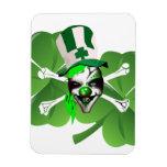 El payaso asustadizo de St Patrick feliz Iman Flexible