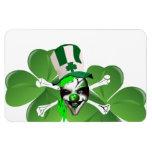 El payaso asustadizo de St Patrick feliz Imán
