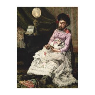 El payaso impresión en lienzo estirada