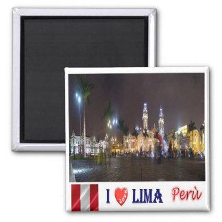 El PE - Perú - Lima - viejo patrimonio mundial la Imán Cuadrado