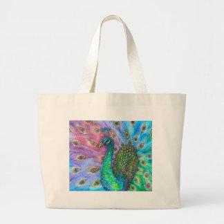 El Peacock. perfecto Bolsa Lienzo