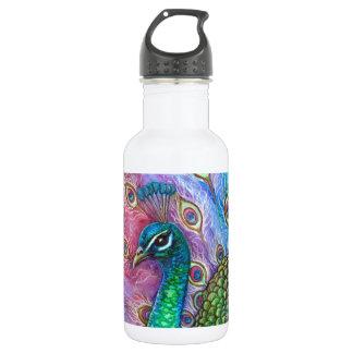 El Peacock. perfecto Botella De Agua