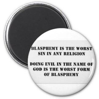 El pecado peor imán