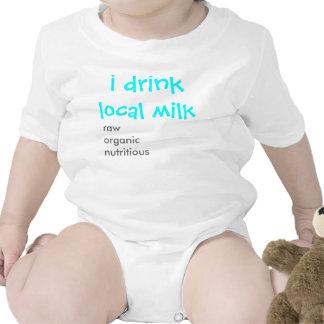El pecho es la mejor enredadera 1 del bebé trajes de bebé