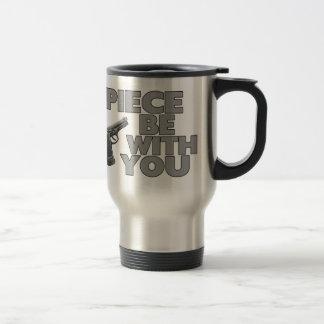 El pedazo esté con usted tazas de café
