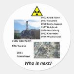 """¿El pegatina anti de la energía atómica """"quién es"""