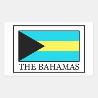 El pegatina de Bahamas