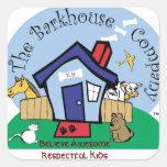 El pegatina de Barkhouse